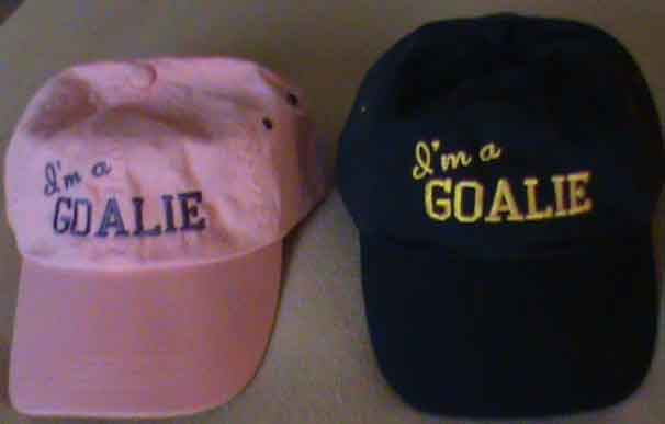 I'm a GOALIE Hats
